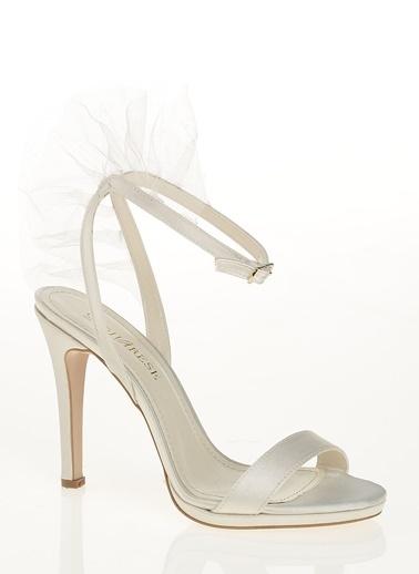 D by Divarese İnce Topuklu Ayakkabı Bej